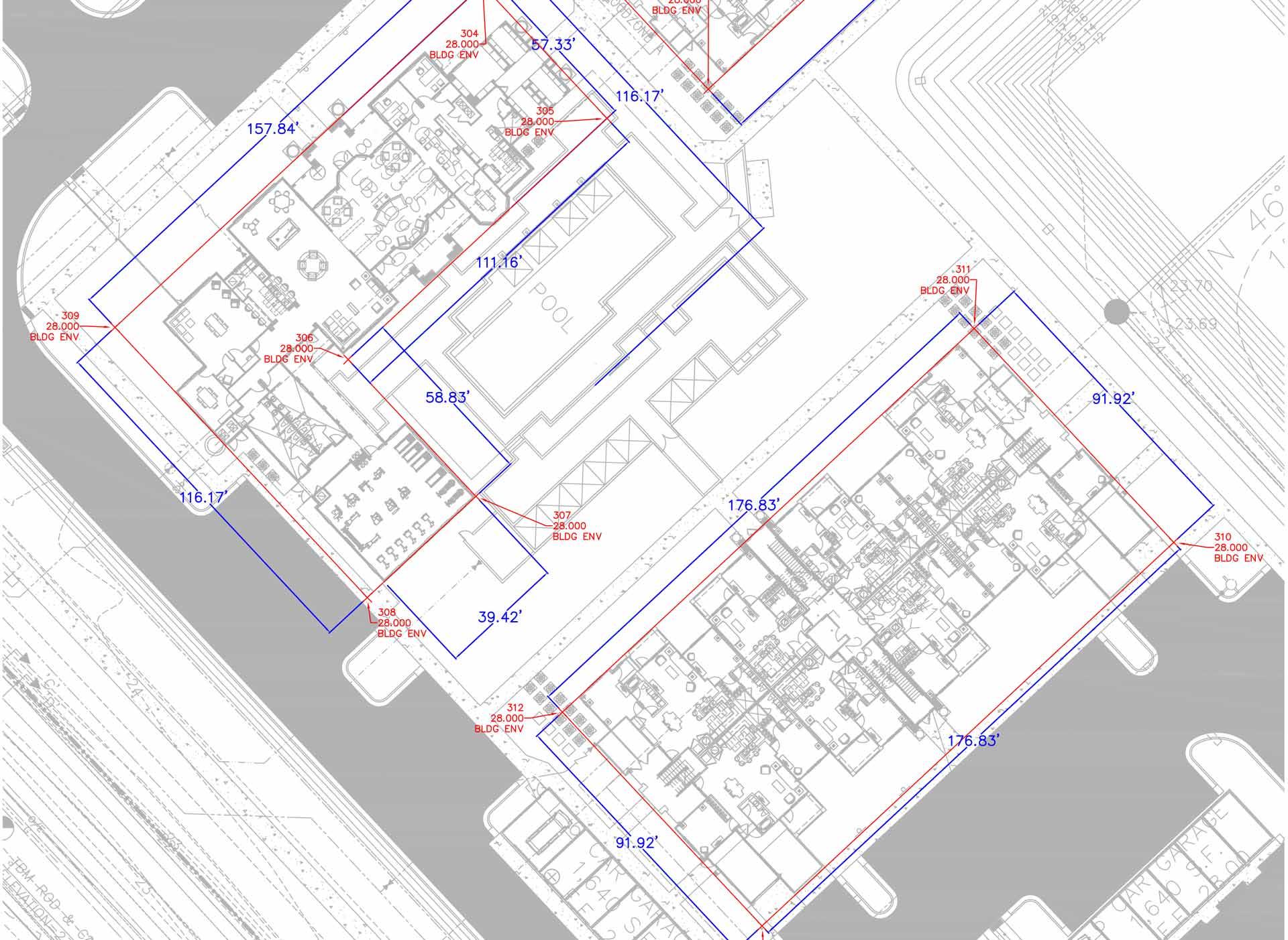 Napier building detailed