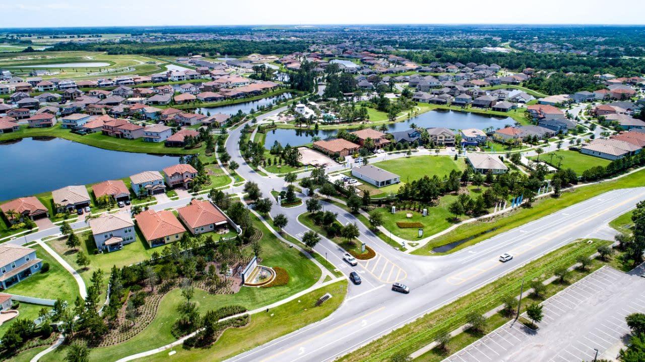 Waterleaf housing exit and freeway merge